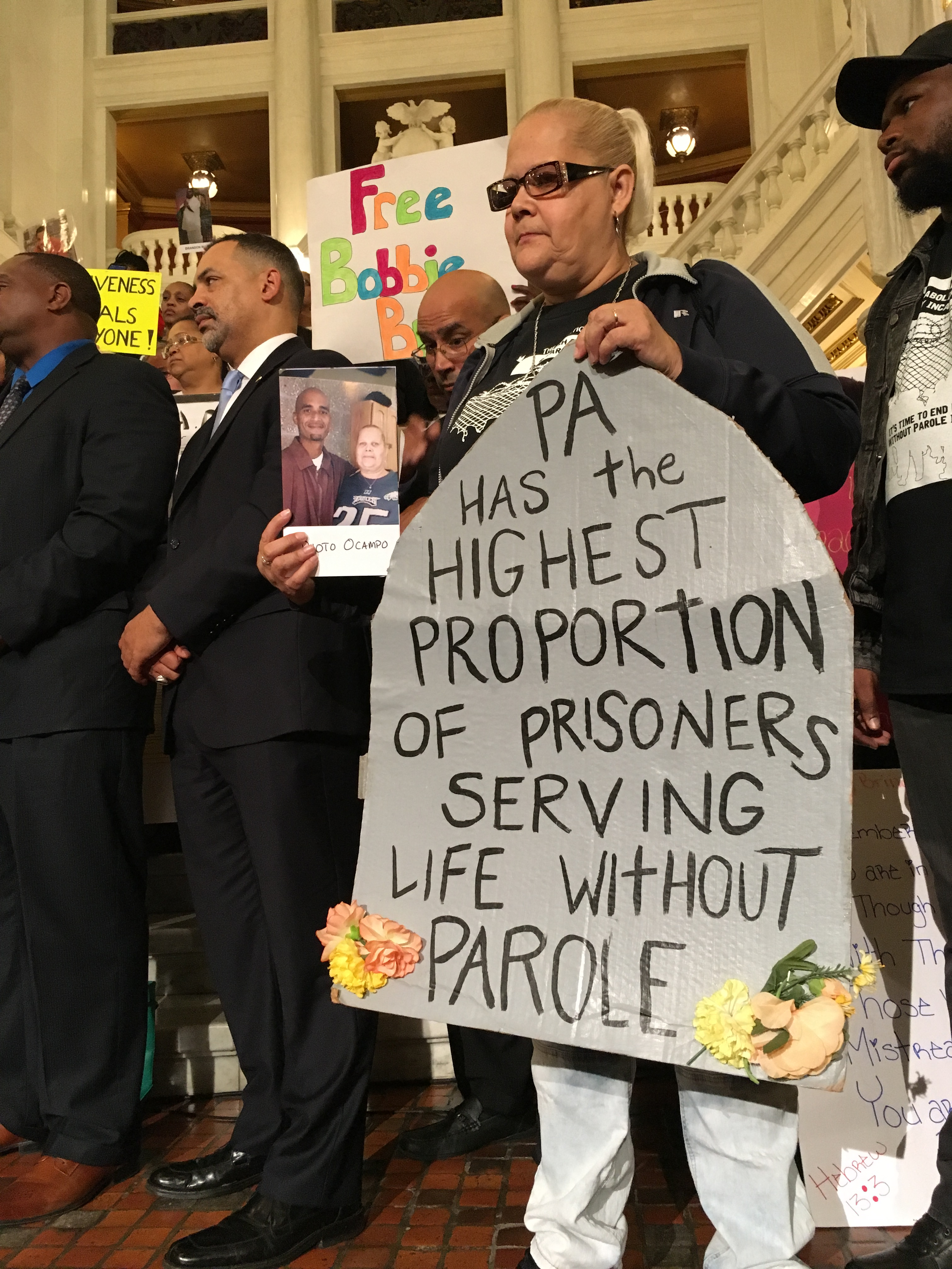 Rally for Redemption in Harrisburg October 25, 2017
